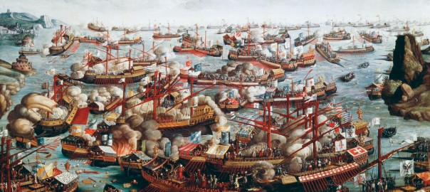 Battle-of-Lepanto-fleets-galleys-Turks-Venice-October-7-1571
