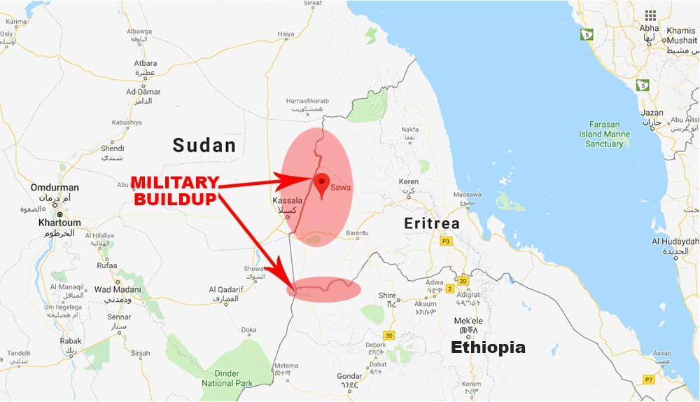 sudan-egypt-eritrea-military-buildup
